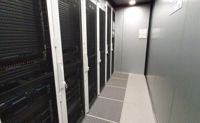 Superračunalnik HPC RIVR FOTO: Univerza V Mariboru