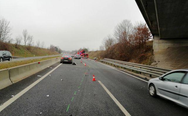 Nesreča bi se lahko končala tragično. FOTO: PU Kranj