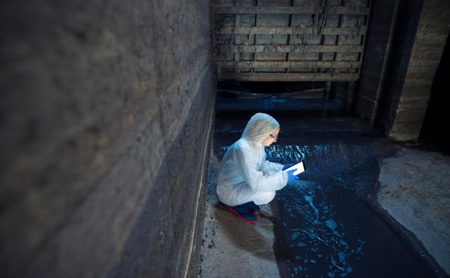 Odpadna voda je uporaben zapis življenjskih navad prebivalstva.<br /> Foto Shutterstock
