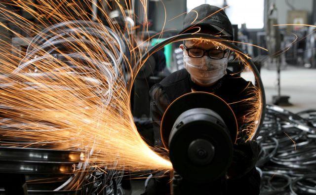 Turški, kitajski in južnokorejski jeklarji svoje proizvodne presežke usmerjajo na trg Evropske unije. Foto Reuters