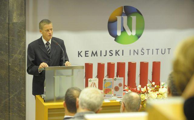 Dr. Zoran Stančič, vodja predstavništva evropske komisije v Sloveniji, je na podelitvi poudaril pomen odličnosti, odprtosti in povezovanja znanosti. Foto Bojan Radin