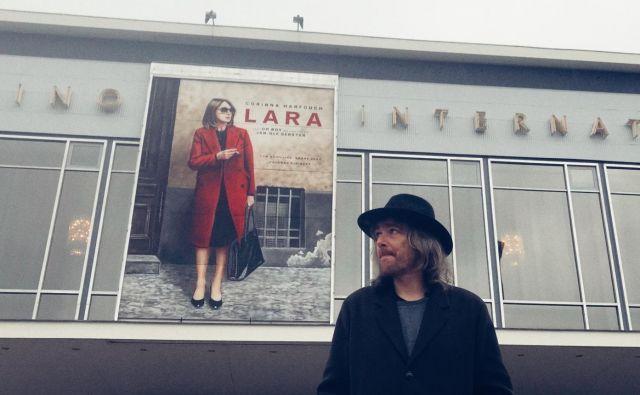Lara mu je odprla vrata na mednarodno filmsko prizorišče. FOTO: osebni arhiv