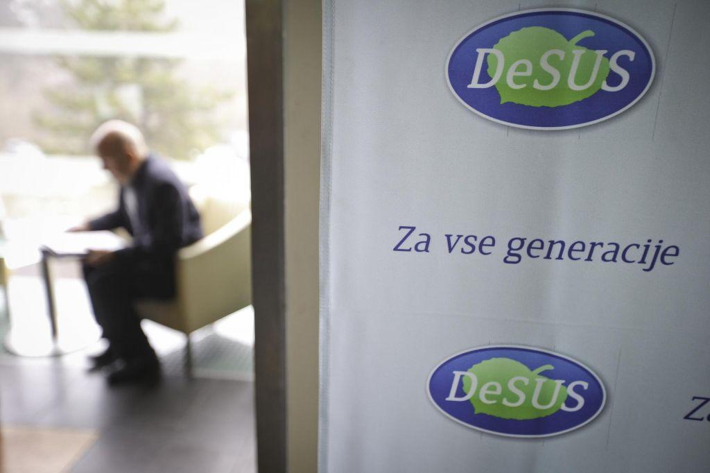 Desus bo potrjeval kandidature za januarski kongres stranke