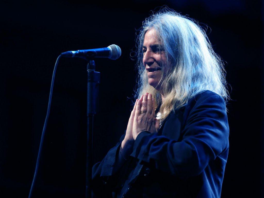 Patti Smith na koncertu brala Kosovela
