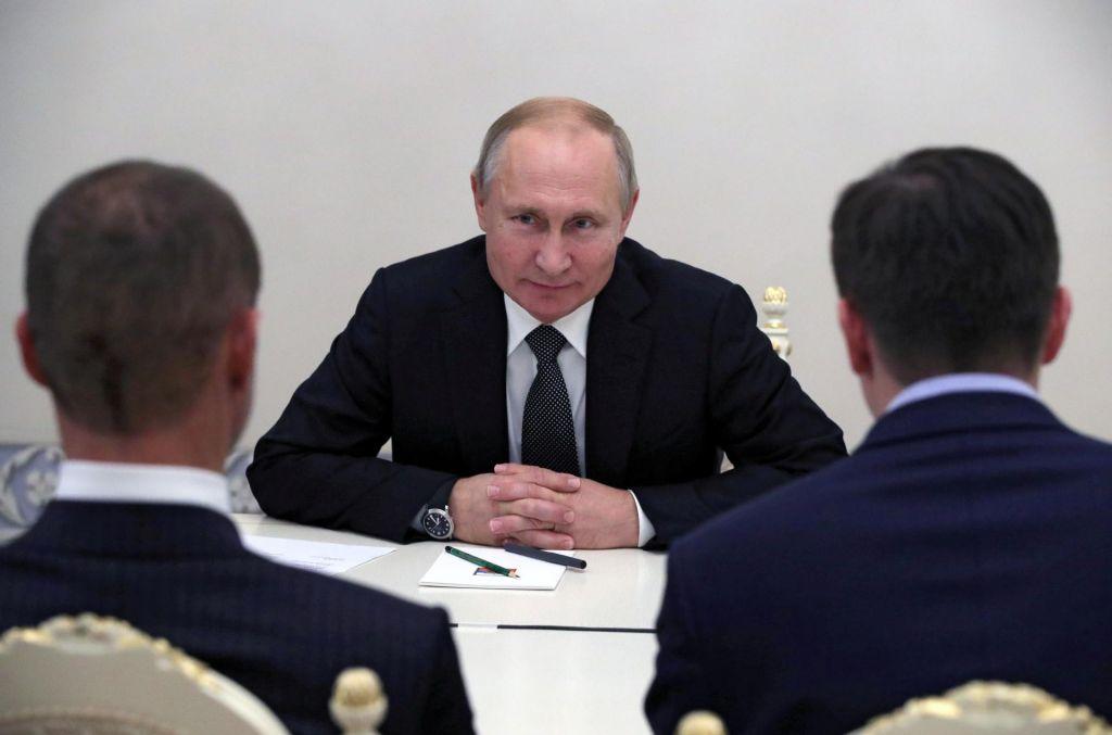 Aleksander Čeferin ni razočaral Vladimirja Putina