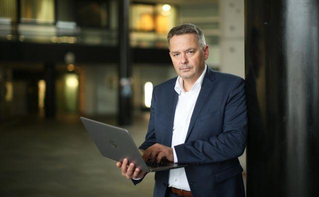 Peter Jenko, generalni direktor Finančne uprave Republike Slovenije. FOTO: Jure Eržen/Delo