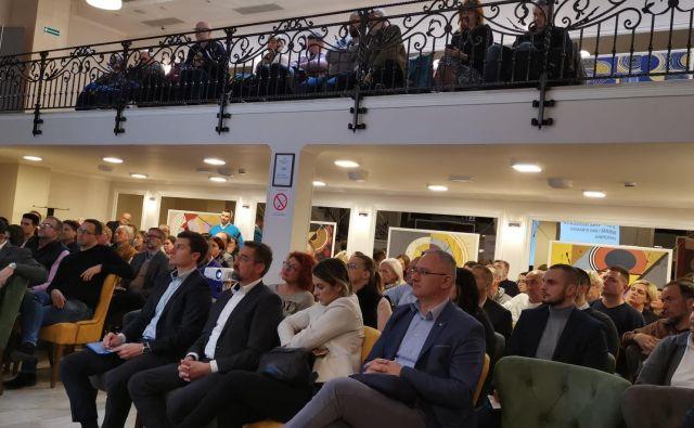 Srbski podjetniki, ki se zanimajo za prihod v Slovenijo. Fotografije Milena Zupanič