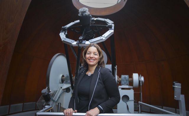Dr. Maruša Bradač je raziskovalka in profesorica fizike na kalifornijski univerzi v Davisu. Foto Jože Suhadolnik