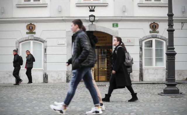 Zgodovinski arhiv Ljubljana deluje skupaj na devetih lokacijah, sedež ima v ljubljanski mestni hiši. Foto Uroš Hočevar