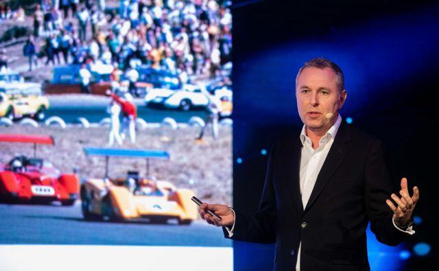 Izvršni direktor McLaren Pro Cycling in član upravnega odbora pri McLaren Racing John Allert je predaval na Sportu, konferenci iz športnega marketinga v Portorožu. FOTO: Vid Ponikvar/Sportida
