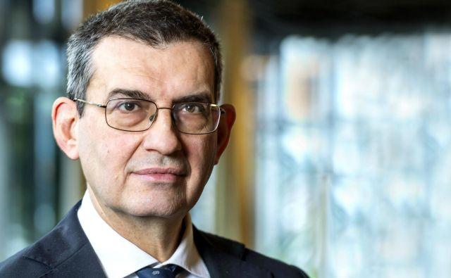 Luigi Ambrosio, profesor na univerzi Scuola Normale Superiore v Pisi, je letošnji prejemnik Balzanove nagrade za matematiko in s tem tudi čeka za 750.000 švicarskih frankov. Foto Peter Mosimann