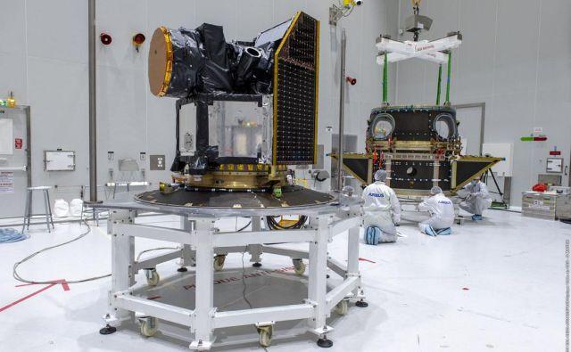 Esin satelit Keops bo sikal planete zunaj našega osončja. Foto Esa