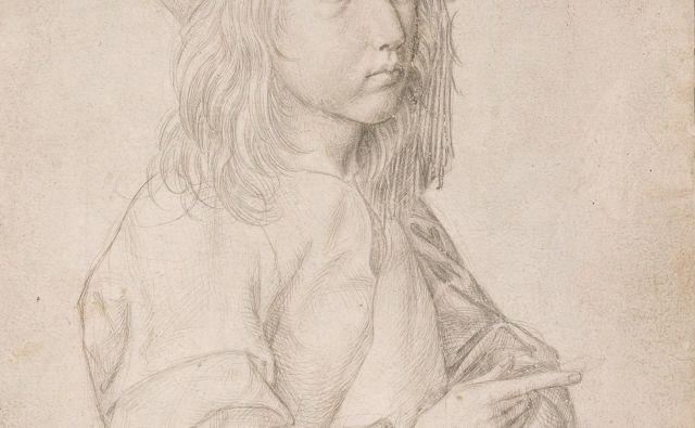 Albrecht Dürer: Avtoportret pri trinajstih, 1484 FOTO: Muzej Albertina, Dunaj