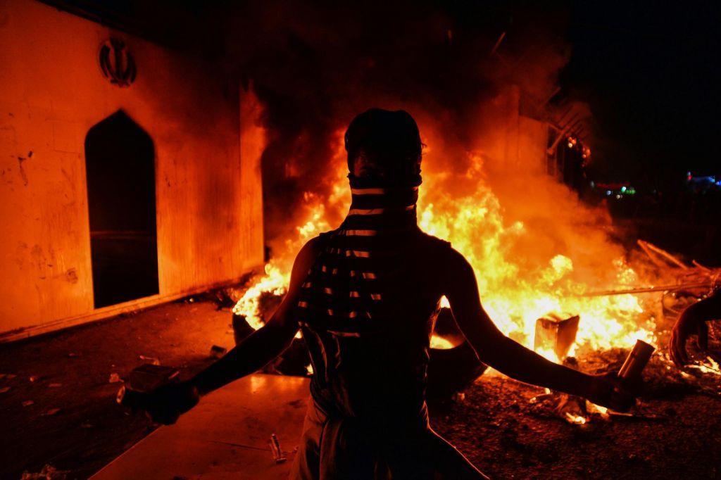 Irak hoče s kriznimi celicami zadušiti proteste