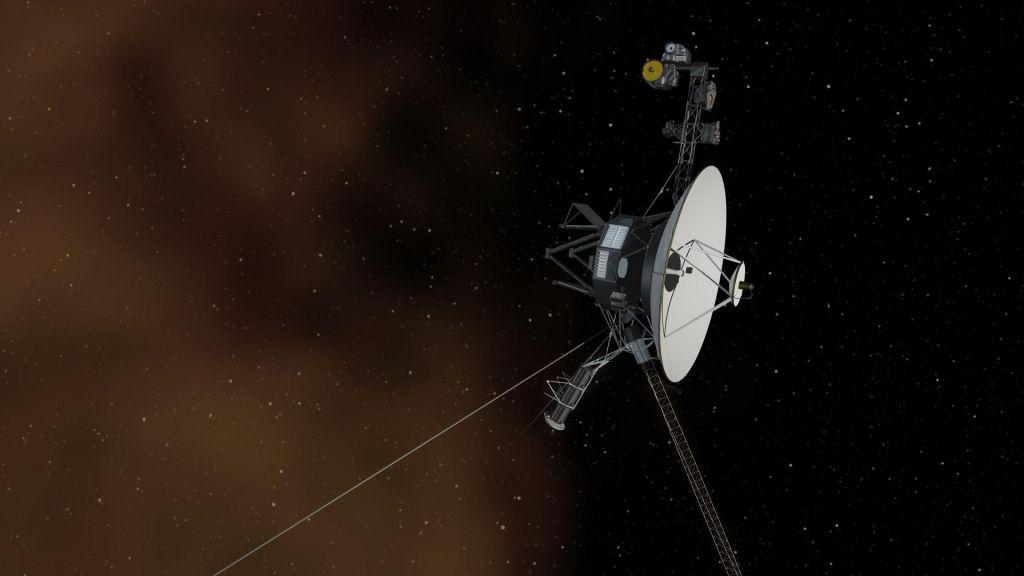 FOTO:Voyager 1: človekova stvaritev, ki se je najbolj oddaljila od Zemlje