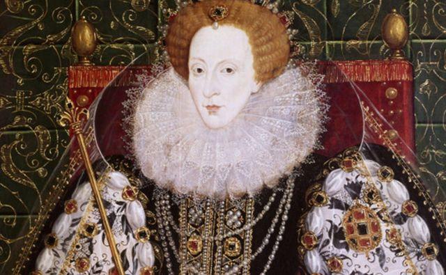 Kraljica Elizabeta I. je Angliji vladala konec 16. in v začetku 17. stoletja in za zabavo tudi prevajala rimske klasike. FOTO: Royal Museum Greenwich