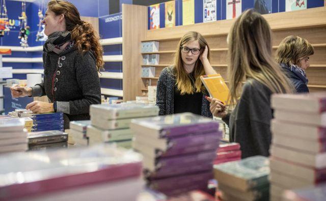 Privilegij so takšna srečanja, s knjigami, njihovimi avtorji, ki pridejo v to mesto in na stežaj odprejo okna. FOTO: Voranc Vogel/Delo