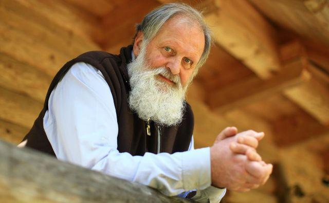 Pater Karel Geržan Ljubno 15.10.2019 [karel geržan] Foto Tomi Lombar/delo