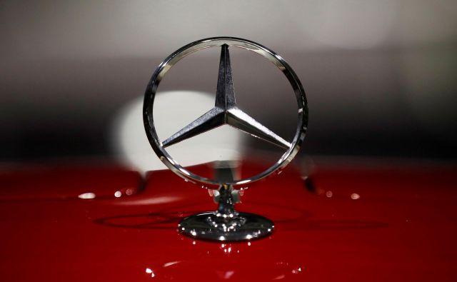 Tudi Mercedes bo močno zmanjšal število zaposlenih. FOTO: Reuters