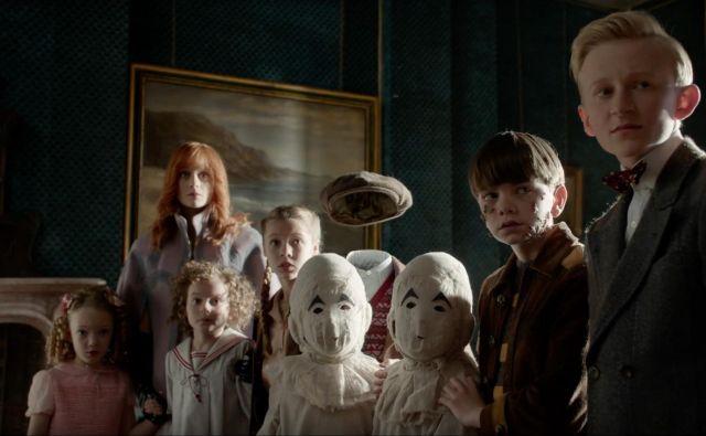 Nenavadni otroci v filmu Tima Burtona. Foto arhiv studia