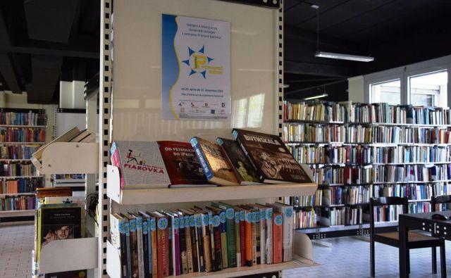 Od leta 2007 je v projektu sodelovalo 11.058 bralcev, prebrali so 86.791 knjig.FOTO: Arhiv knjižnice Cirila Kosmača Tolmin