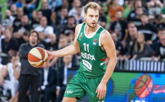Jaka Blažič je eden od dolžnikov v Olimpijinem moštvu. FOTO: ABA