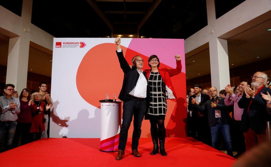 Vodenje SPD prevzema Groku nenaklonjen par