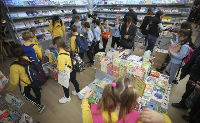 Slovenski praznik knjige se je nocoj zaključil. Foto Jože Suhadolnik