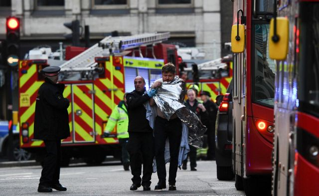 Napad v Londonu. FOTO: AFP