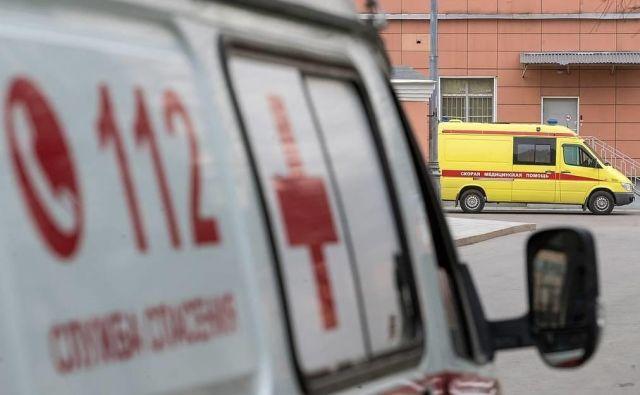 V nesreči se je poškodovalo najmanj 19 potnikov. FOTO: Sergei Bobylev/Tass<br />