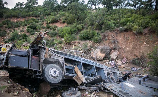 Posledice nesreče v Tuniziji. FOTO: Reuters