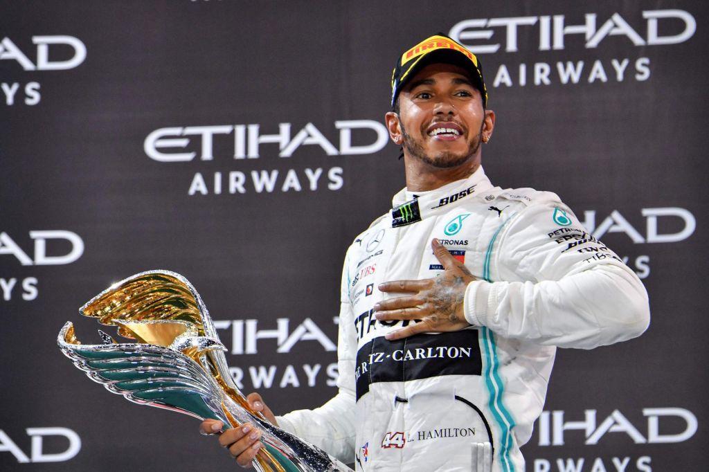 Svetovni prvak Hamilton sezono 2019 končal z zmago