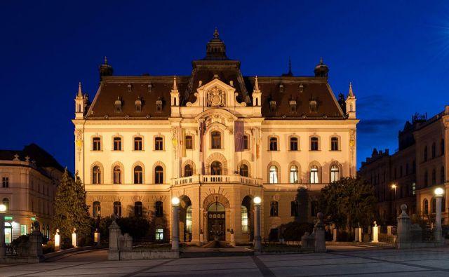 Slavnostna akademija ob 100. obletnici Univerze v Ljubljani Foto Delo