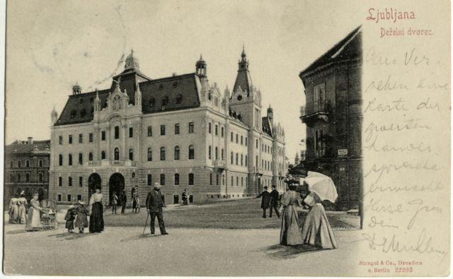 Julija 1919 je regent Aleksander Karađorđević podpisal zakon o Univerzi kraljestva SHS v Ljubljani, pri ustanovitvi pa je sodelovalo pet fakultet: filozofska, medicinska, pravna, tehniška in teološka. Foto Kartografska in slikovna zbirka NUK