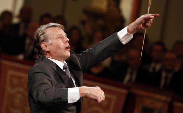 Sloviti dirigent je večkrat nastopil tudi pri nas. FOTO: Reuters
