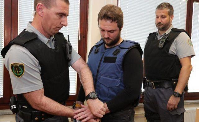 Abramova je doletela tudi obtožnica zaradi suma, da je marca 2015 umoril svoje tedanje dekle. FOTO: Dejan Javornik/Slovenske novice
