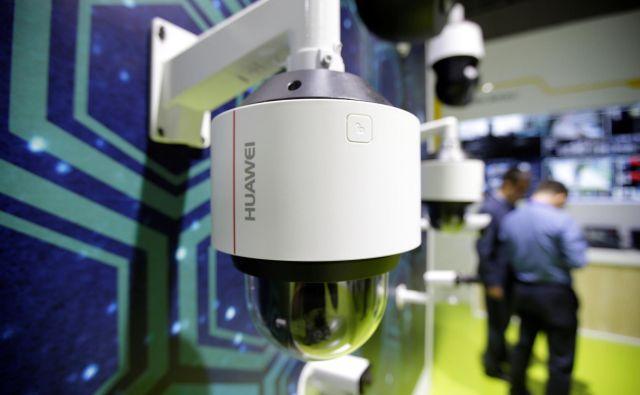 Huawei je po Beogradu namestil skoraj 1000 kamer na 800 lokacijah. FOTO: Reuters
