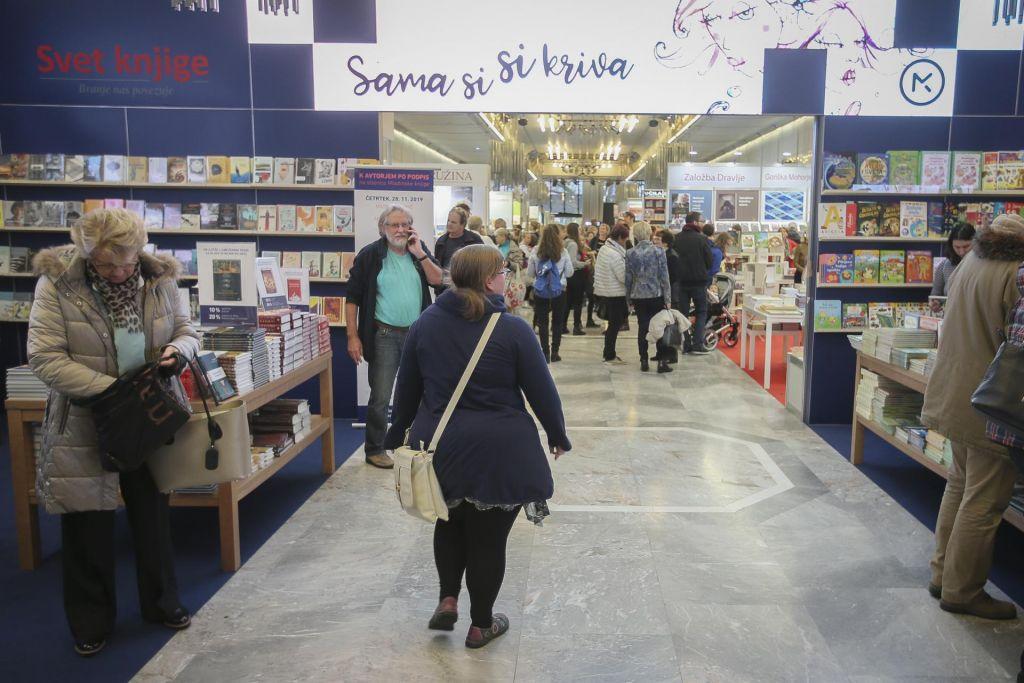 FOTO:Knjižni sejem je končan, naj živijo knjige