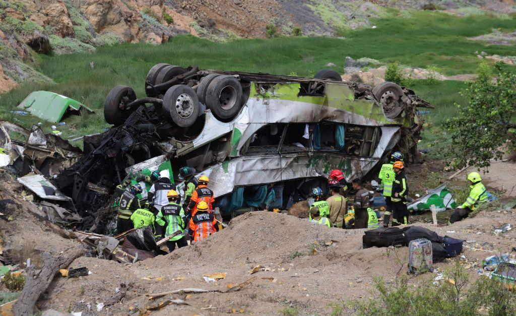 V avtobusni nesreči v Čilu več kot 20 mrtvih