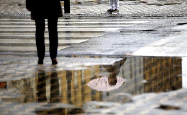 Policisti opozarjajo, da pešci pri prečkanju ceste nimajo absolutne prednosti. FOTO: Roman Šipić/Delo