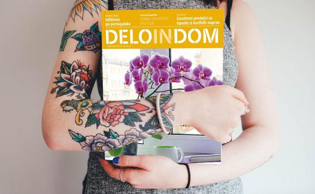 Sreda je dan za novo številko priloge Deloindom. Foto Deloindom