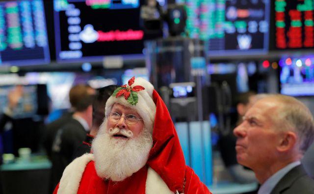 Če ne bo recesije v ZDA, lahko na svetovnih delniških trgih pričakujemo pozitivna gibanja tudi v prihodnjem letu. FOTO: Reuters