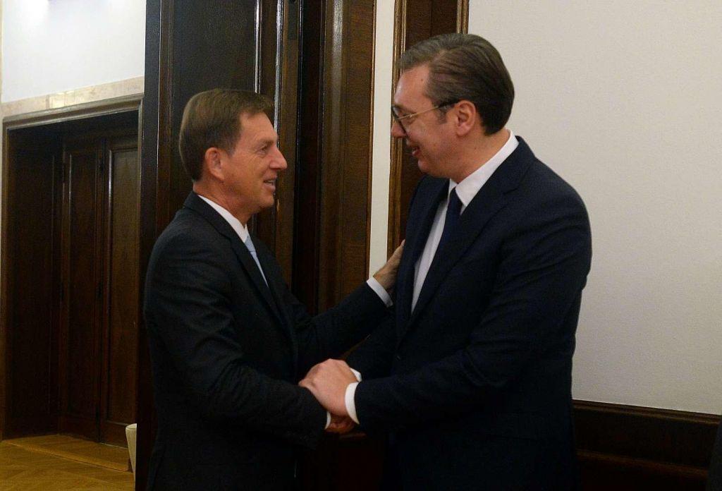Cerar k Vučiću, Vučić k Putinu