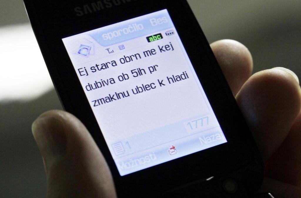 27 let od prvega SMS-sporočila