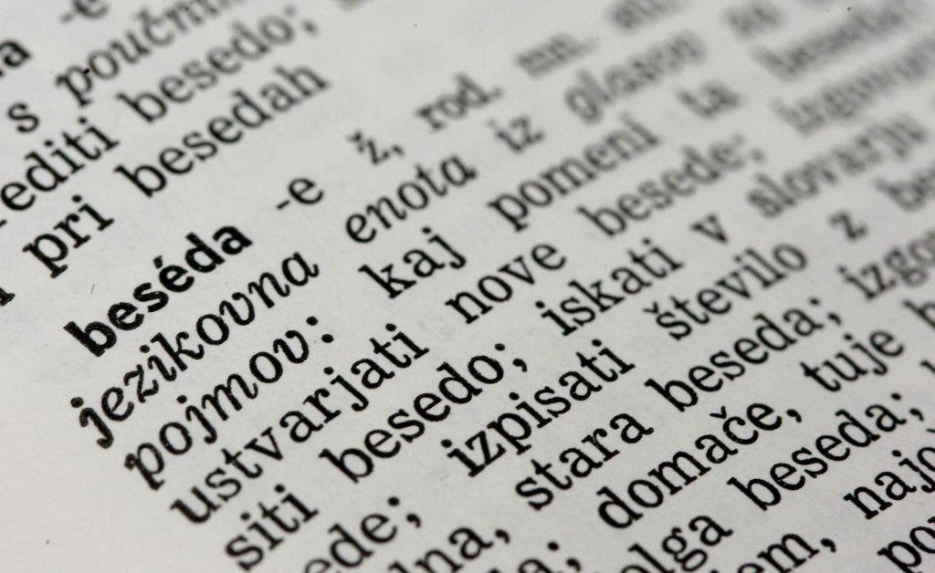 Koliko je danes v resnici še vredna slovenščina?