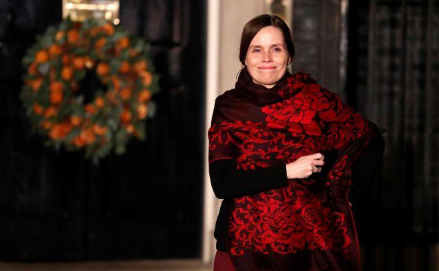 Katrin Jakobsdottir je za drugačne prioritete vlad. FOTO: Pool/Reuters