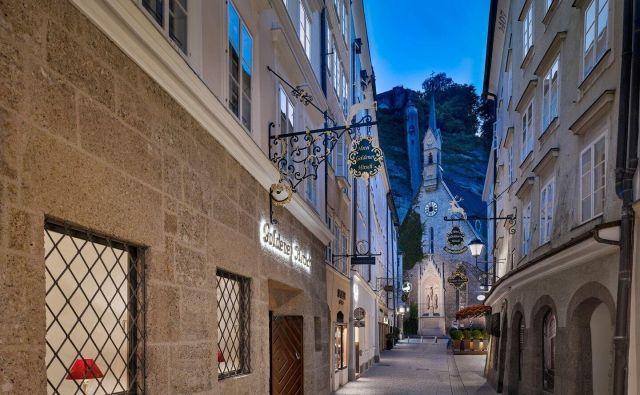 Luksuz na salzburški osrednji ulici: Getreidegasse 37. Fotografije promocijsko gradivo