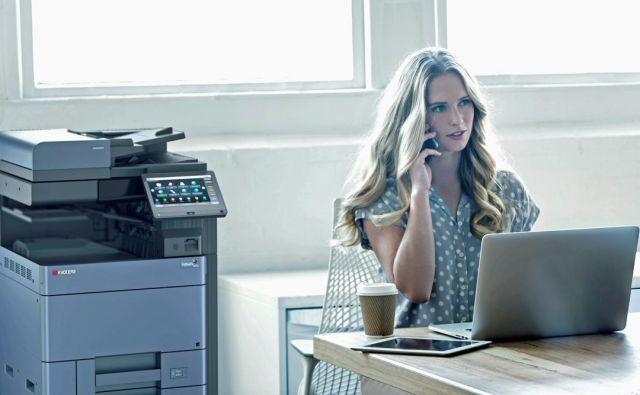 Vse več podjetij se odloča za tiskanje kot storitev. Foto Kyochera