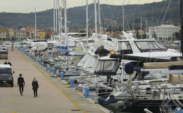 Kdo bo v prihodnje upravljal izolsko marino? Foto Jože Suhadolnik