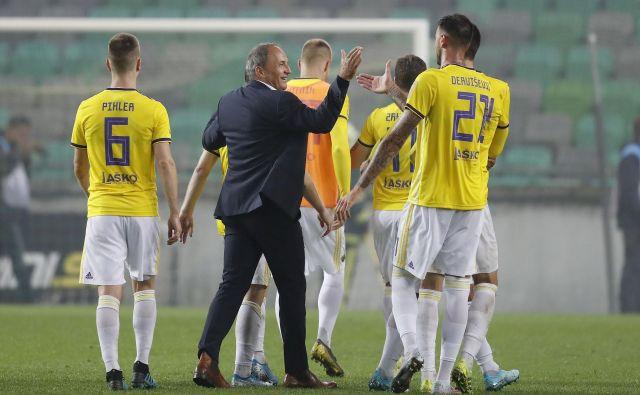 Darko Milanič in Mariborčani so ob koncu leta igrali v slabi formi. FOTO: Leon Vidic/Delo